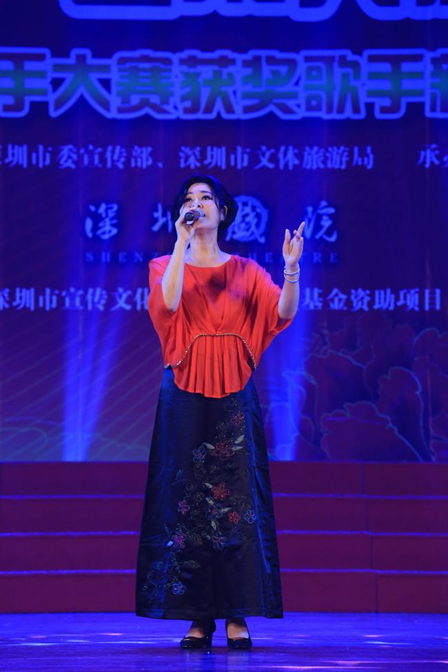 2017年深圳市中老年歌手大赛获奖歌手新年音乐会于年